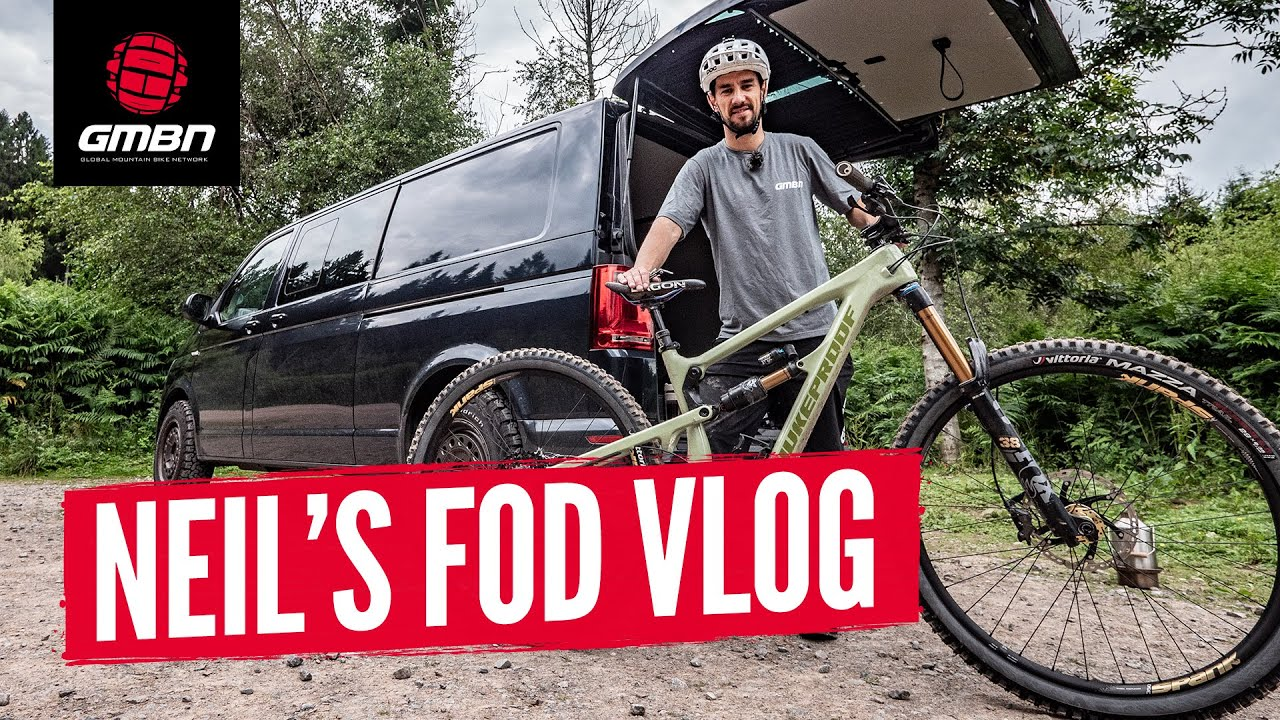 Neil's MTB Van Tour & Fastest Time At The Forest Of Dean   GMBN Vlog