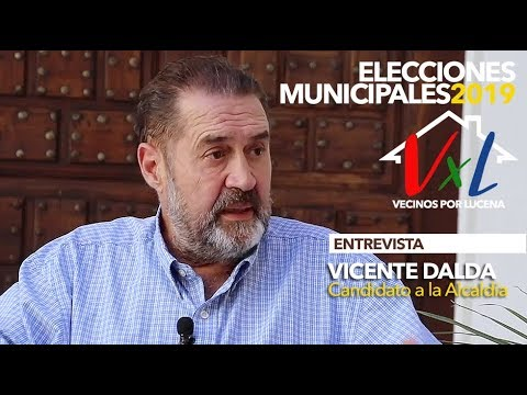 VÍDEO: ELECCIONES MUNICIPALES LUCENA 2019: Entrevista a VICENTE DALDA (VxL)