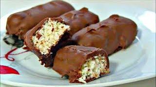 Батончик  Баунти рецепт в домашних условиях / Вкусные кокосовые конфеты Bounty