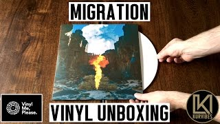 Bonobo - Migration Vinyl Unboxing   KurVibes