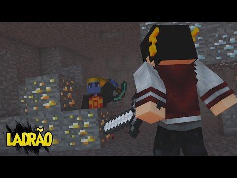 Minecraft: PROVA DE TUDO DIA #1 - Roubei...