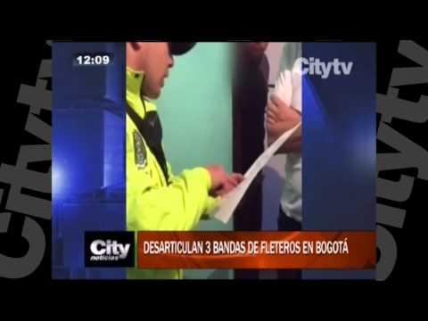 Desarticulan tres bandas de fleteros en Bogotá l CityTv l Abril 26