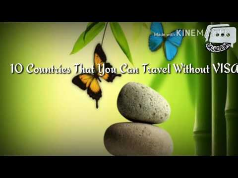 10 Countries that Indians can travel without visa formalities