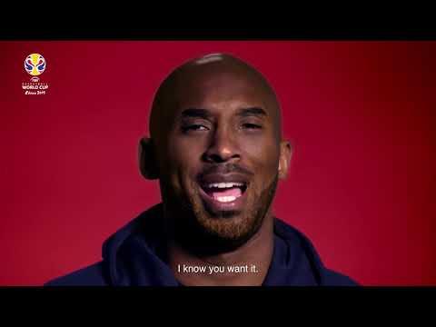Kobe Bryant 2019 FIBA Basketball World Cup Announcement