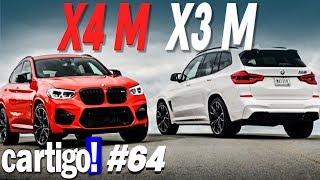 BMW X3 M e X4 M 2019 - CARTIGO!#64 | ApC