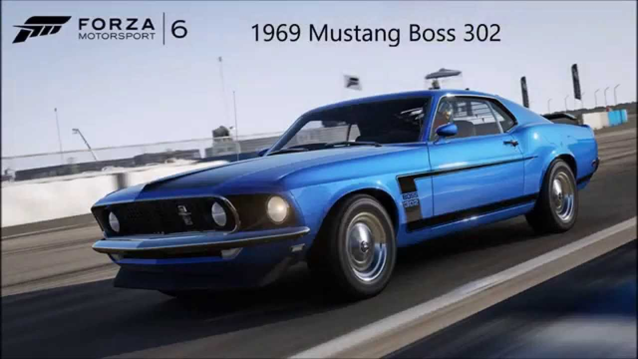 Forza Muscle Cars In Forza Youtube