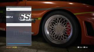 Need for speed toyota supra build