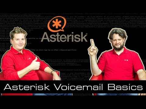 Asterisk Tutorial 16 - Voicemail Basics [english]
