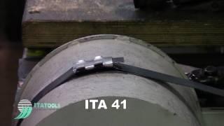 Пневматический инструмент для упаковки продукции стальной лентой ITA 41
