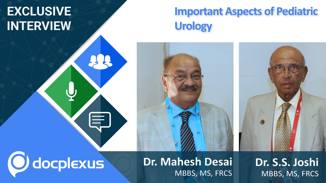 "Important Aspects of Pediatric Urology"" by Dr  S S  Joshi"