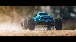 Load Video 2:  ARRMA GRANITE- 1/10th Electric 2WD Monster Truck