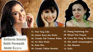Betharia Sonata,Ratih Purwasih, ANNIE CARERA Full Album Tembang Kenangan