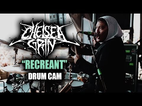 Chelsea Grin | Recreant | Drum Cam (LIVE)