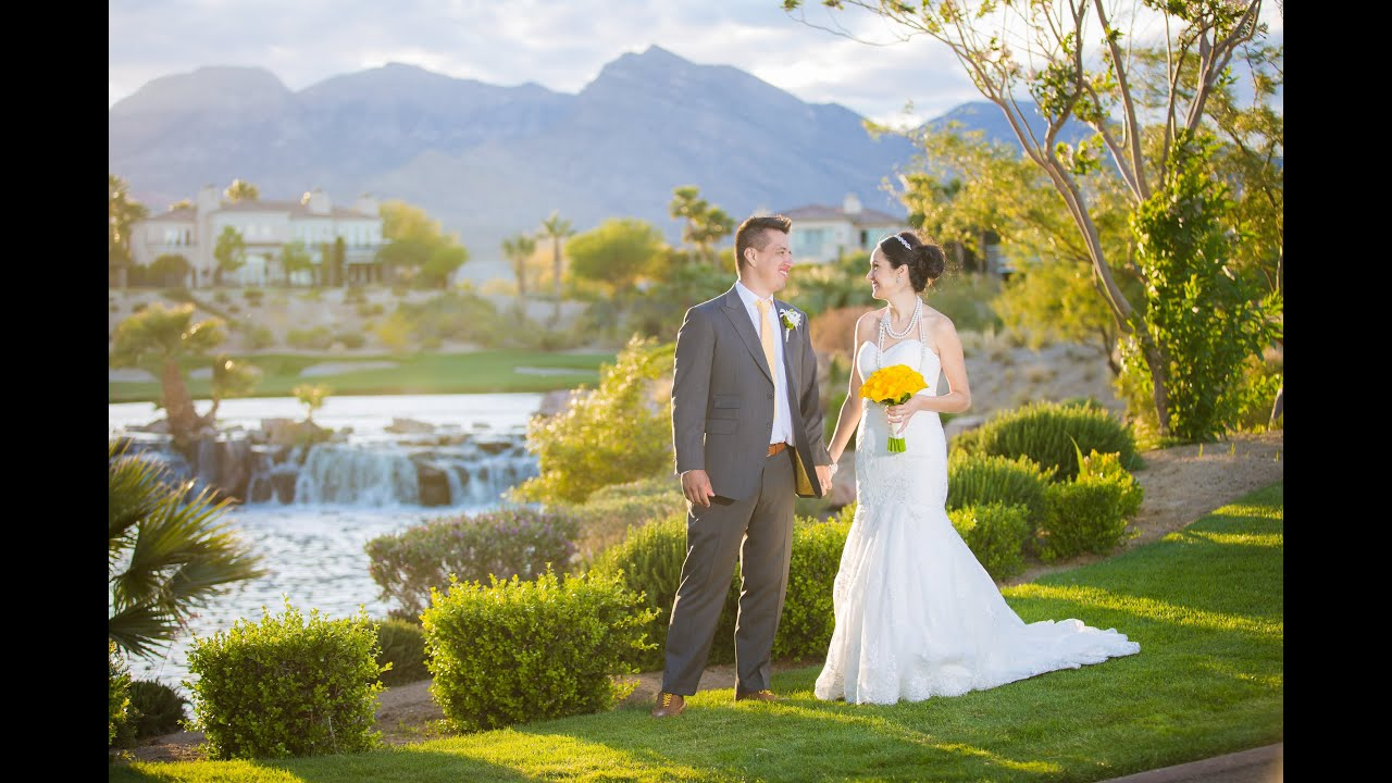 Red Rock Country Club Weddings Las Vegas Wedding Videographers
