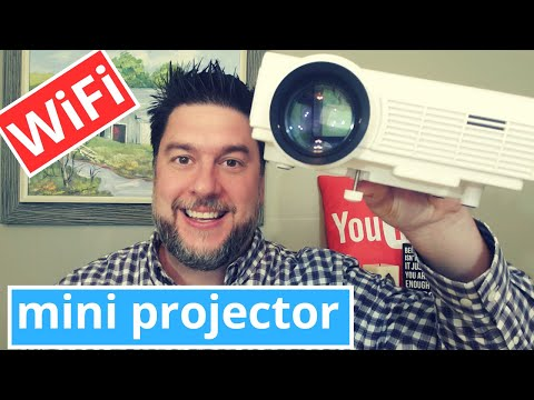 Mini Projector Review: Vankyo Leisure 3 pro projector  - 2020 model with WiFi