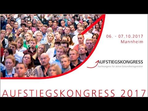 """Aufstiegskongress 2017: """"Fit for the future"""" / Top-Referenten beim offenen Fachkongress der Fitness- und Gesundheitsbranche"""