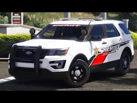 GTA 5 LSPDFR Police Mod #602 Erie County Sheriff Department (New York Patrol)