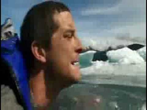 Bear Grylls - A Cold Swim from YouTube · Duration:  2 minutes 46 seconds