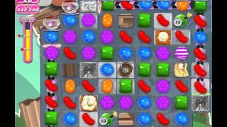 Candy Crush Saga Level 1423 (No booster, 3 Stars)