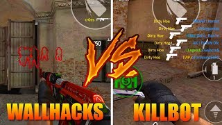 Forward Assault Wall Hacks Vs. Kill Bot Who Will Win⁉️