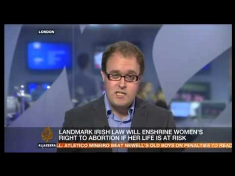 Catholic Voices: Peter Williams on the abortion legislaton in Ireland on Al Jazeera