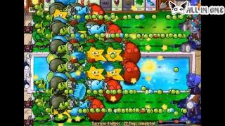 - Plants Vs. Zombies MOD 6 Morelull Scaredy Shroom, Hypno shroom vs Dr. Zomboss SO GREAT