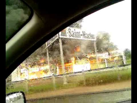 Saint-Maclou Montlucon en feu - YouTube