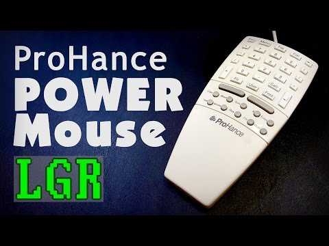 LGR Oddware - ProHance Power Mouse 100