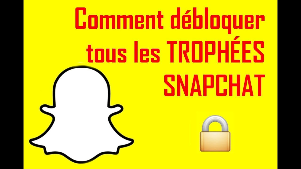 comment d bloquer tous les troph es snapchat. Black Bedroom Furniture Sets. Home Design Ideas