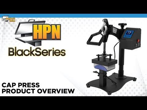 HPN Black Series Cap Press Heat Transfer Machine - HeatPressNation.com