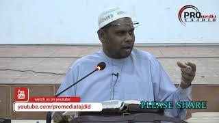 14-03-2018 Ustaz Halim Hassan; Maksiat | Punca Kehidupan Menjadi Sempit