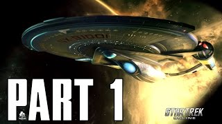 BEAM ME UP SCOTTY! Star Trek Online - Tutorial INTRO - Part 1 Lets Play Walkthrough (PS4 XBOX PC HD)