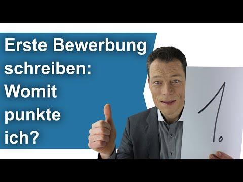 Erste Bewerbung Schreiben: Womit Punkte Ich? Ausbildung, Praktikum, Erster Job. Coach Wehrle (8)