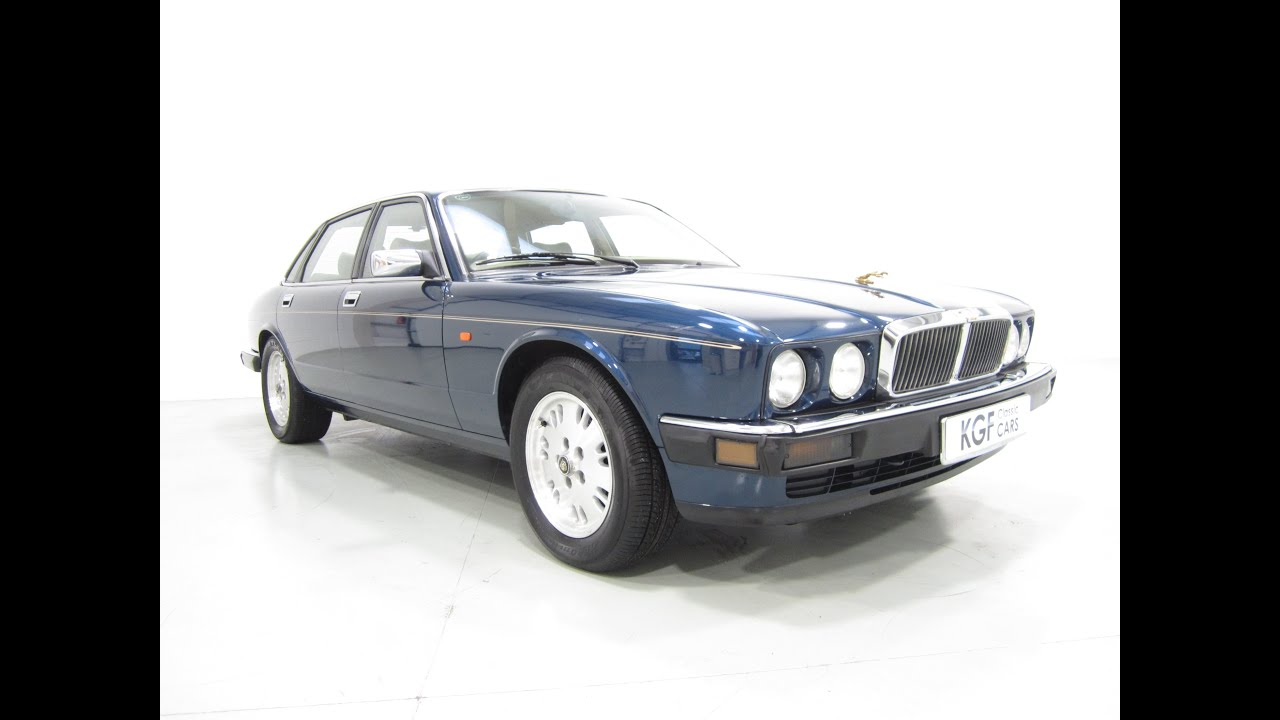 A Luxurious Low Mileage Jaguar Xj6 Gold With History And