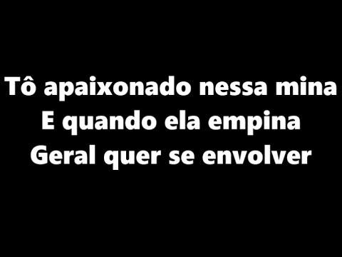 MC Kevinho - Tô Apaixonado Nessa Mina (LETRA - KondZilla)