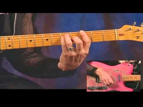 The Doobie Brothers Rhythm Guitar Chord Progression Youtube