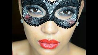 Halloween Tutorial- Glitter Masquerade Mask 2014 Thumbnail