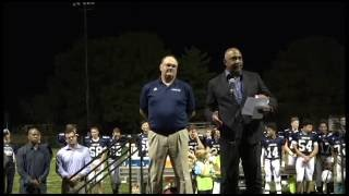 CCDS Coach Tim Dunn honored for 29 years service as football coach
