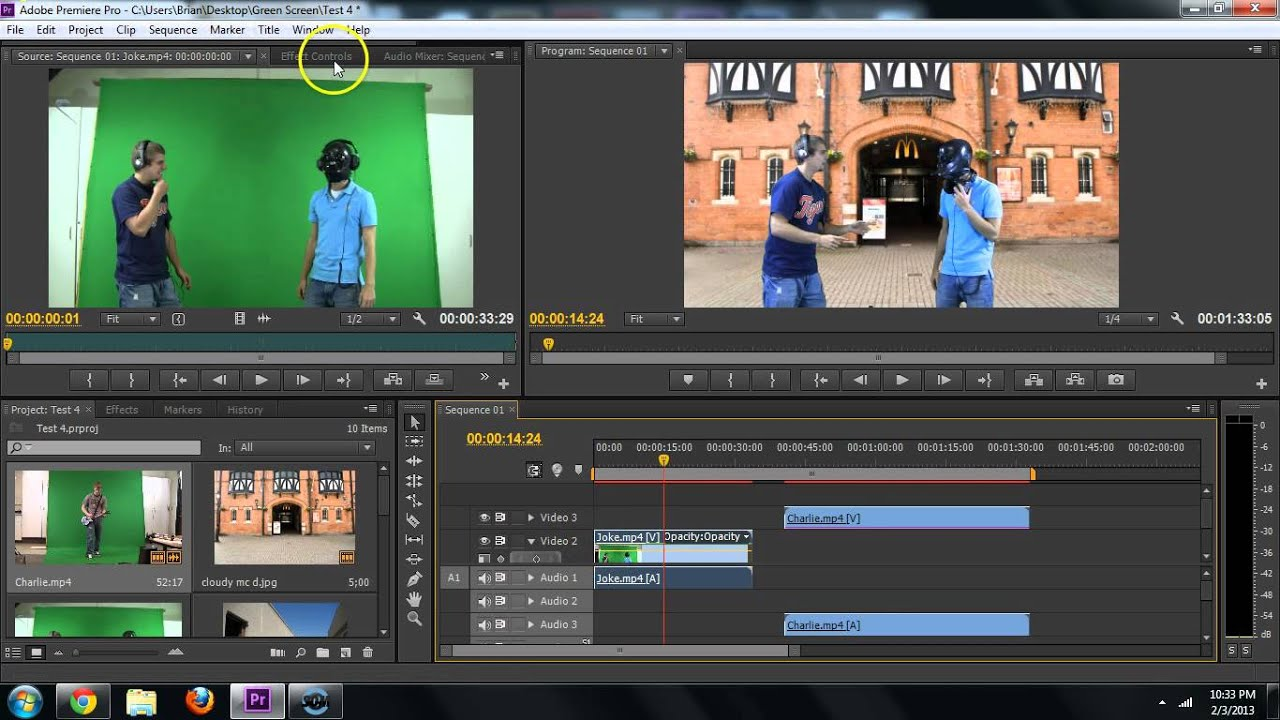 Adobe Premiere How To Remove Green Screen Chroma Key