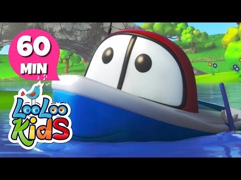 Row, Row, Row Your Boat - Beautiful Songs and Lullabies for Children | LooLoo Kids