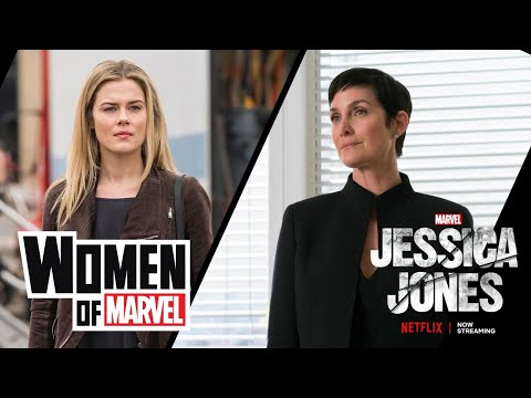 CarrieAnne Moss and Rachael Taylor on the Women of Marvel Podcast