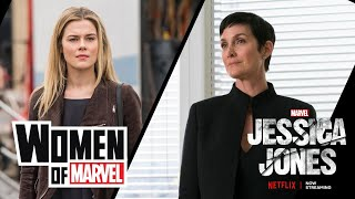 Carrie-Anne Moss and Rachael Taylor on the Women of Marvel Podcast