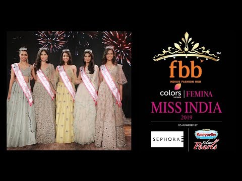 Miss India South 2019: Crowning Moments
