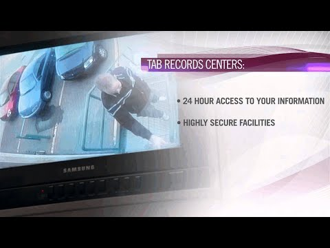 Explore TAB's Record Centers: Imaging Services, Record Storage, Data Abstraction