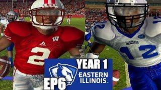 1st Big 10 Game - 15 Touchdowns - Eastern Illinois Dynasty -NCAA Football 06