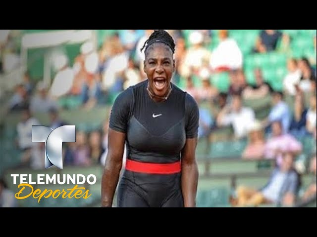 La mejor respuesta al veto del Catsuit de Serena Williams | Tenis | Telemundo Deportes