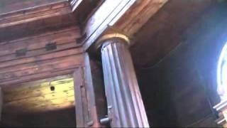 Architektura drewniana -  Modrzewiowy kościół p. w. Przemienienia Pańskiego w Borowicy