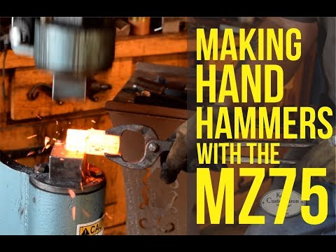 Making Hand Hammers with the MZ75 Power Hammer
