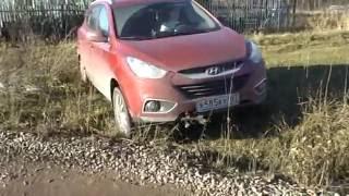 Hyundai ix35 Канавка