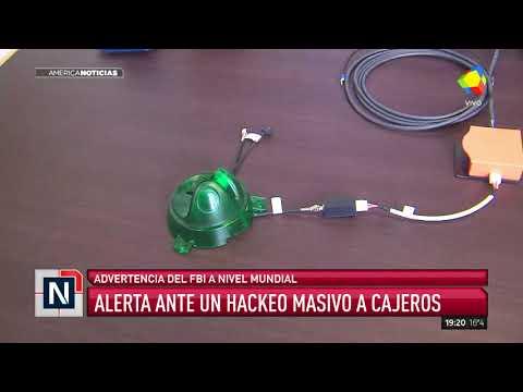 Alerta por un masivo hackeo a los cajeros automáticos